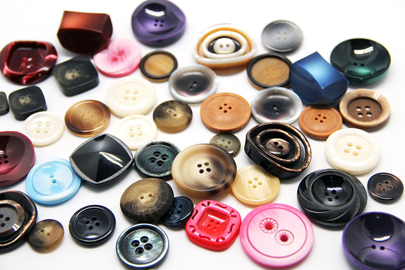 botão polyester 005